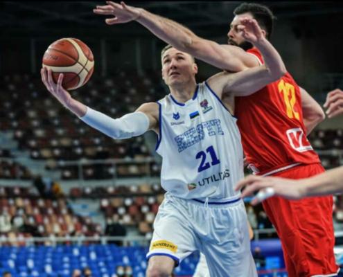 Janari Jöesaar ist der erste Neuzugang von medi bayreuth für die neue Saison. Bild: FIBA