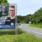Nach dem Mord an Daniel W. sucht die Polizei nun mit einem Plakat nach neuen Hinweisen. Foto: Jürgen Lenkeit
