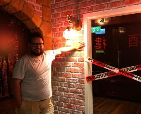 Escape Room in Bayreuth: Kai Fischer hat den Trend nach Bayreuth gebracht: Bild: Jürgen Lenkeit