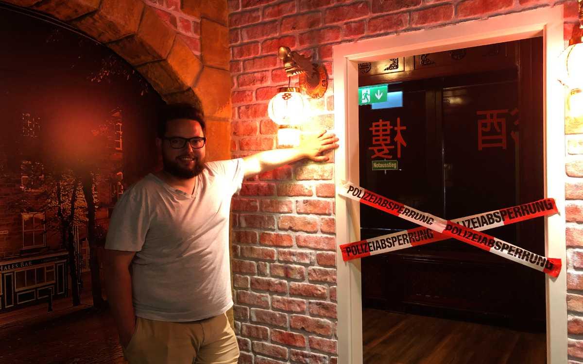 Escape Room in Bayreuth: Kai Fischer hat ihn am 16. Juni eröffnet. Bild: Jürgen Lenkeit