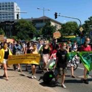 Fridays for Future in Bayreuth: Am 24. September findet wieder eine Demonstration statt. Archvbild: Jürgen Lenkeit