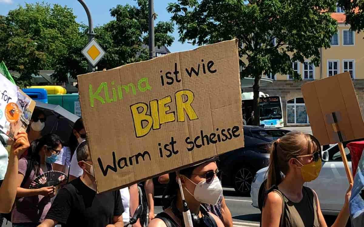 Fridays For Future sendet unmissverständliche Botschaften. Bild: Jürgen Lenkeit