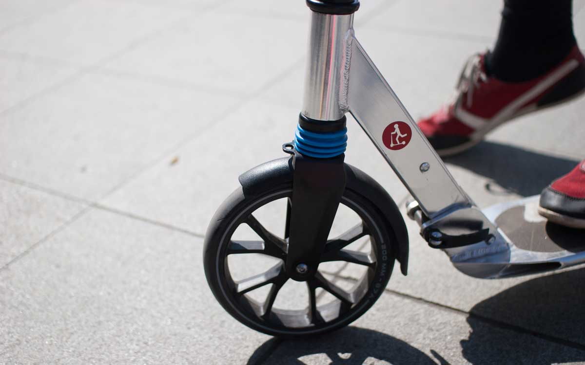 Nachhaltige Mobilität durch Muskelkraft. Symbolbild: Unsplash.com/Let's Kick