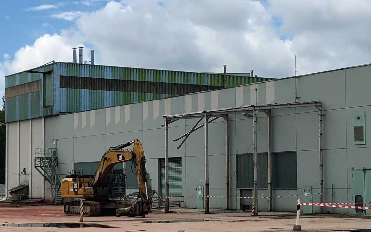 Nach Abbruch der Industriehallen sollen auf dem ZAPF-Areal ein Wohngebiet mit rund 700 Wohnungen entstehen. Bild: Jürgen Lenkeit