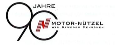 Logo: 90 Jahre Motor Nützel