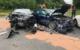 Schwerer Unfall bei Ottmannsreuth im Kreis Bayreuth. Foto: Redaktion