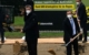 Ministerpräsident Markus Söder und Sebastian Kohrmann, Vorstandssprecher der EDEKA Nordbayern-Sachsen-Thüringen beim Spatenstich in Marktredwitz. Bild: Meeco Communication Services