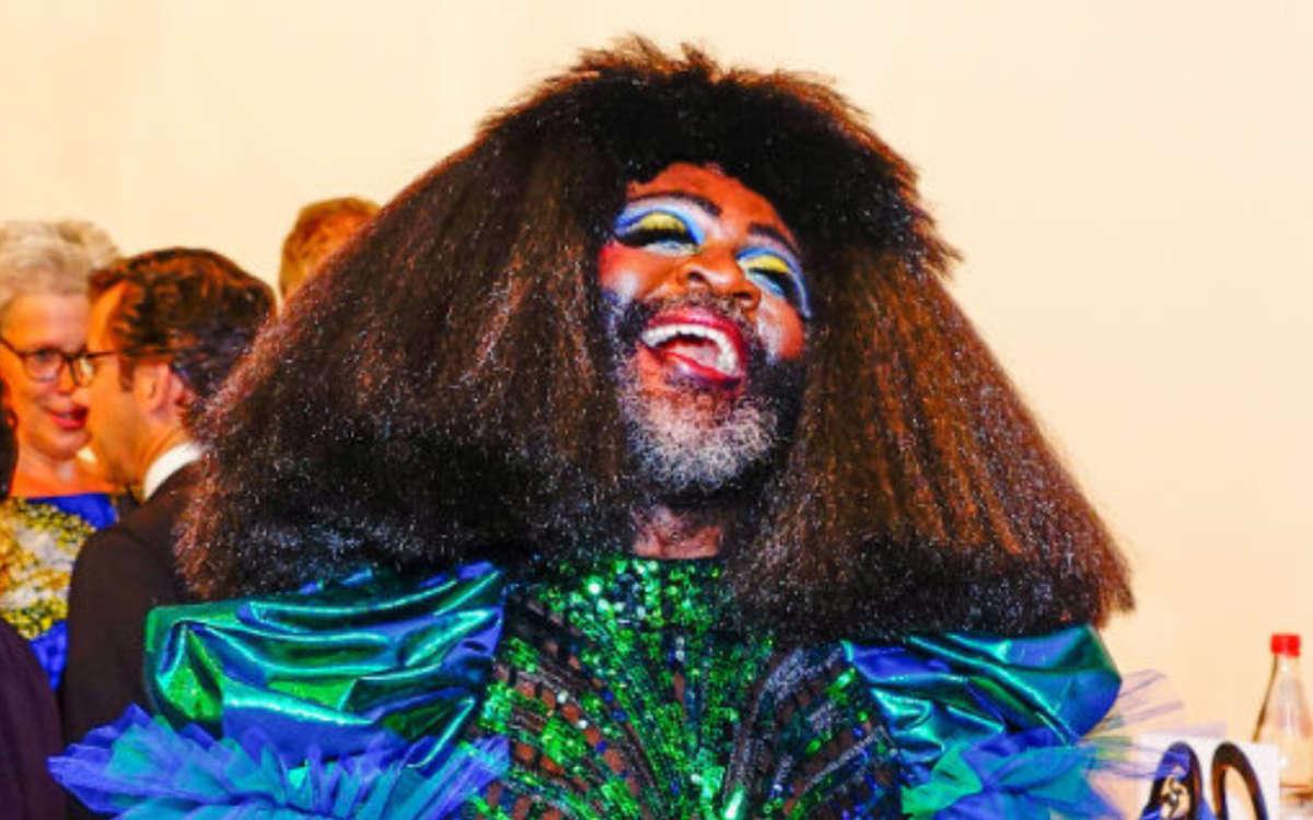 Dragqueen Le Gateau Chocolat kommt 2021 nicht zu den Bayreuther Festspielen: Archivfoto: Redaktion
