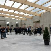 Richtfest für das neue Feuerwehrgerätehaus in Bayreuth. Foto: Stadt Bayreuth