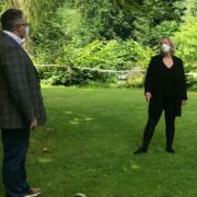 Katharina Wagner bei einem Treffen am Goldbergsee. Foto: TAFF