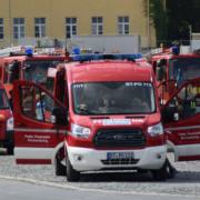Feuerwehren aus Stadt und Landkreis Bayreuth fahren in das katastrophengebiiet nach Rheinland-Pfalz. Foto: News5 / Holzheimer