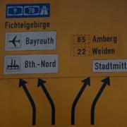 Die Bundesstraßen 2, 22 und 85 müssen in Bayreuth neu verlegt werden. Diese Meinung vertritt CSU-Stadtrat Christian Wedlich. Bild: Jürgen Lenkeit