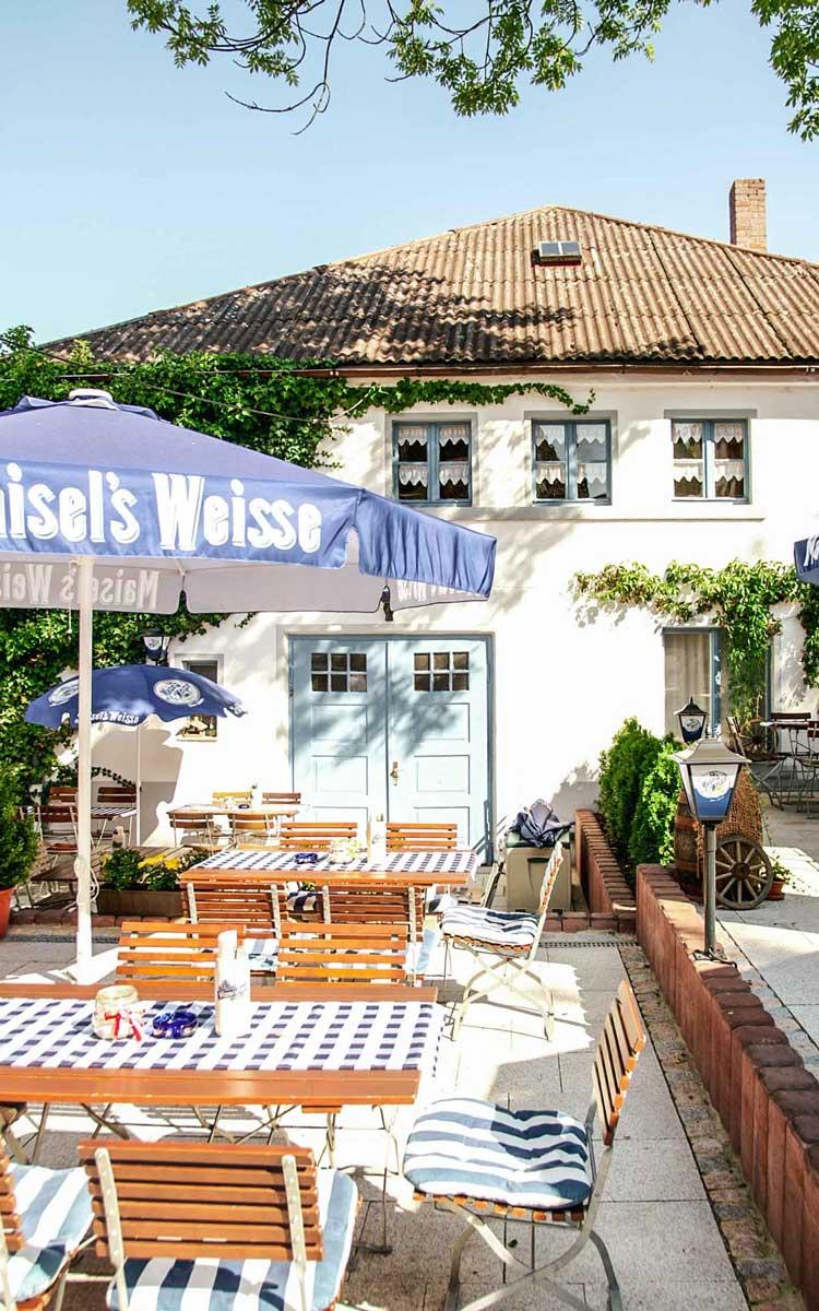 Zu Gast in der Gaststätte Maisel in Bayreuth. Foto: Alexandra Baier