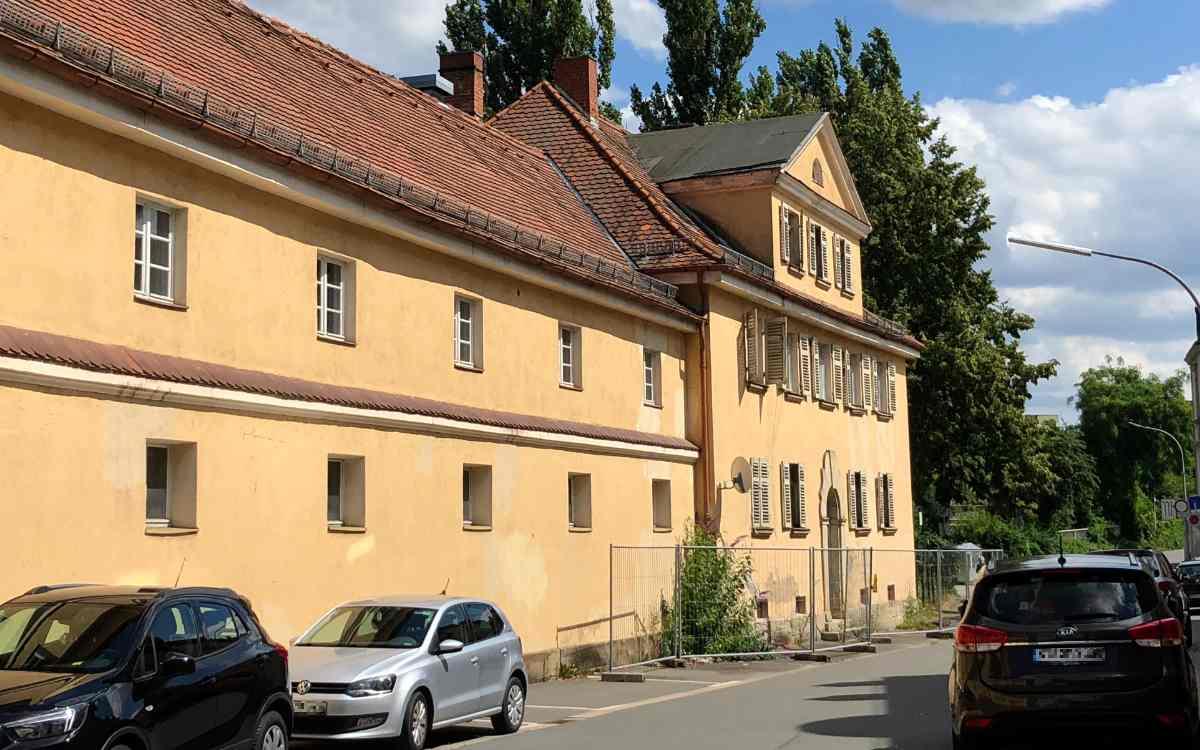 Der Alte Bauhof von Bayreuth: In ihm sollen neue Wohnungen entstehen. Bild: Jürgen Lenkeit