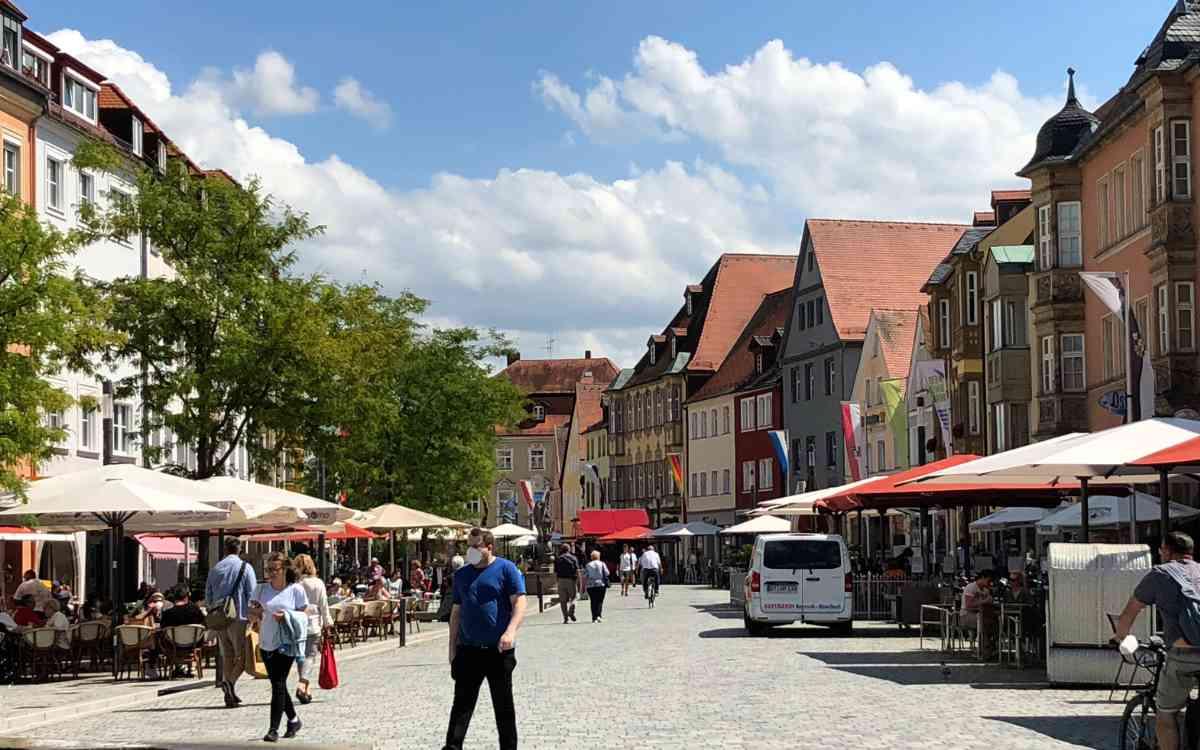 In Bayreuth gibt es am 5. September einen verkaufsoffenen Sonntag. Archivfoto: Jürgen Lenkeit