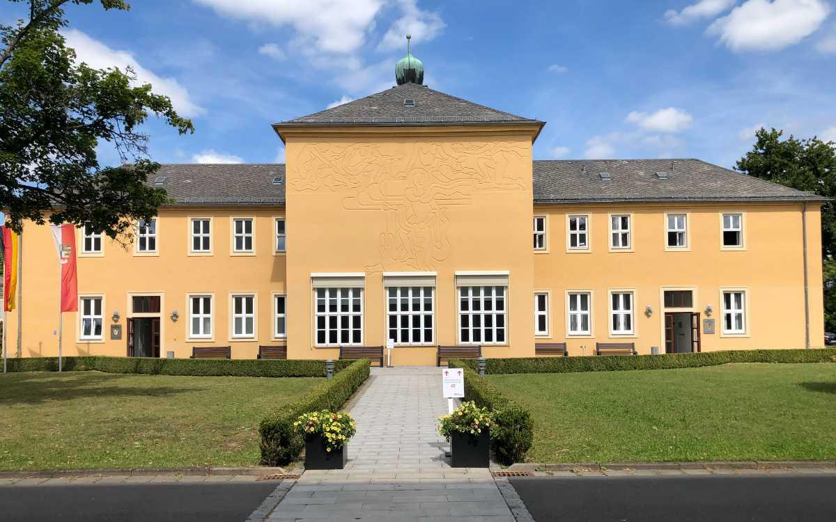 Bezirkstag Oberfranken in Bayreuth. Hier wurde heute die neue Oberfranken-App vorgestellt. Bild: Michael Kind