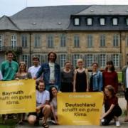 Klimaentscheid Bayreuth: Vertreter der Initiative treffen am 4. August Vertreter der Stadt Bayreuth. Bild: Klimaentscheid Bayreuth