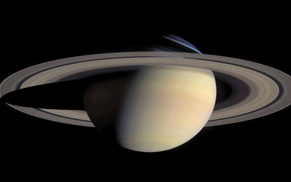 Im August werden Saturn und Jupiter am Nachthimmel zu sehen sein. Symbolbild: pixabay