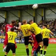 Im Totopokal-Achtelfinale ging es gegen den ASV Neumarkt. Archivbild: Jürgen Lenkeit