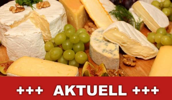 Der Hersteller Fa. Act on eat - Tomm'Pousse ruft einige seiner Käse-Produkte zurück. Grund sind bedenkliche Bakterien. Symbolbild: Montage Redaktion