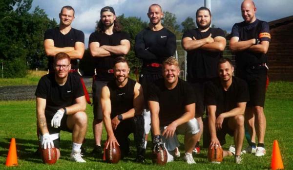 Flag Football in Ramsenthal: Die erste offizielle Mannschaft weit und breit wurde jetzt gegründet. Bild: Jürgen Lenkeit