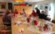 Gemütliche Atmosphäre zu ernstem Thema: Bei Kaffee und Kuchen unterhielten sich SPD-Politikerin Anette Kramme und die Pflegerinnen und Pfleger des Pflegezentrums Bischofsgrün über die Zukunft des Berufs. Bild: Michael Kind