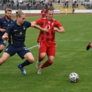 Am Mittwochabend hat BSC Bayreuth-Saas gegen den TSV 1860 München im Toto-Pokal gespielt. Foto: Christoph Wiedemann
