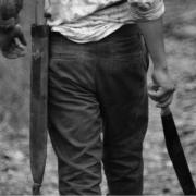 In Hof hat ein renitenter 81-Jähriger Jugendlichen gedroht, ihnen mit einer Machete die Köpfe abzuschlagen. Symbolbild: Pixabay
