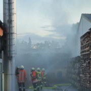 In der Schreinerei eines Möbelherstellers in Thurnau ist am Mittwoch (25. August) ein Brand ausgebrochen. Bild: News5/Kettel