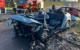 Tödlicher Unfall bei Heustreu in Unterfranken. Foto: Merzbach / News5