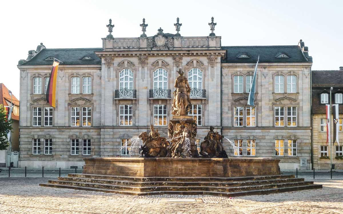 Italienfeeling in Bayreuth. Foto: Alexandra Baier