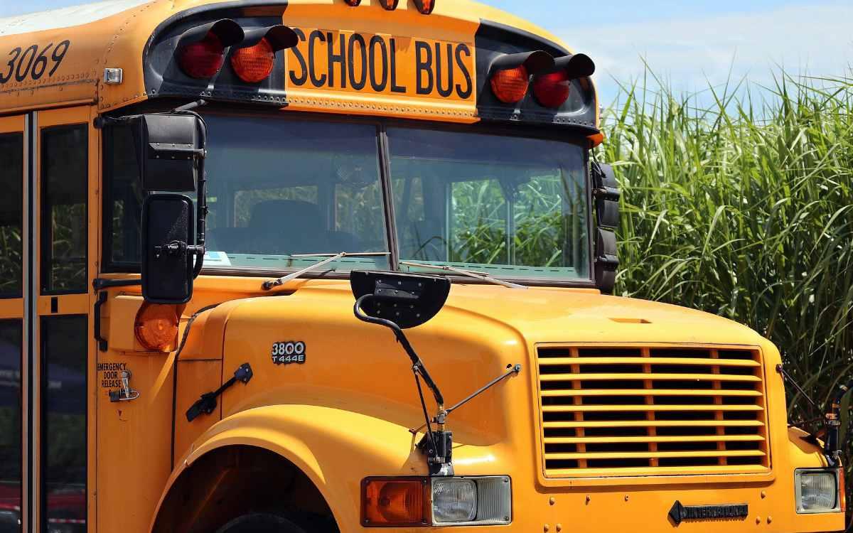 Bei einem Unfall mit einem Schulbus in Oberfranken im Kreis Hof wurden drei Kinder verletzt. Symbolbild: Pixabay