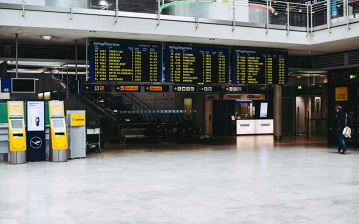 Der Flughafen Nürnberg bieten ebenfalls eine sehr große Auswahl an Flugzielen. Bildquelle: @ Markus Spiske / Unsplash.com