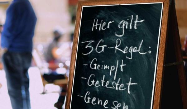 3G-Regel in Bayreuth: Ab wann sie wieder gilt. Symbolbild: Pixabay
