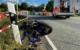 Bei Pinzberg (Kreis Forchheim) ist ein Motorradfahrer bei einem Unfall lebensgefährlich verletzt worden. Bild: News5/Merzbach