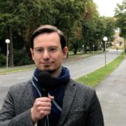 Tobias Peterka (AfD): Er tritt bei der Bundestagswahl in Bayreuth an. Bild: Jürgen Lenkeit