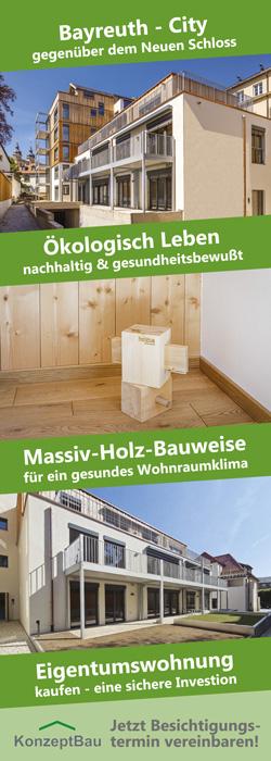 BA KonzeptBau Bayreuth - Massivholz-Wohnungen