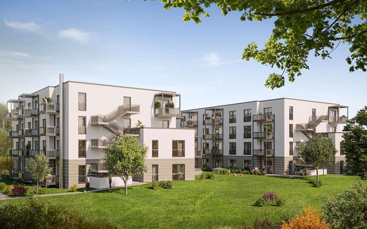 Spatenstich für das neue Seniorenwohnheim in Bayreuth: hugo komfort. Bild: Opus Marketing