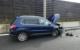 Drei Autos gerieten bei einem Unfall in der Einhausung bei Bayreuth ins Schleudern. Vier Personen wurden verletzt. Bild: Verkehrspolizei Bayreuth