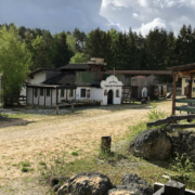Das Wunderland in Plech im Kreis Bayreuth soll zu einem neuen Freizeitpark gewandelt werden. Planerin und Gemeinde müssen sich noch einigen. Foto: Hübner