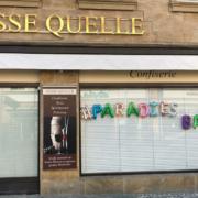 Seit Januar 2021 ist die Süße Quelle in Bayreuth geschlossen. Ein langjähriger Mitarbeiter eröffnet hier - vielleicht noch dieses Jahr - seine eigene Vinothek. Bild: Michael Kind